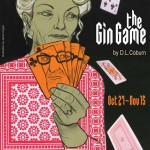 """Jamie Hogan poster for Portland Stage's """"The Gin Game"""""""